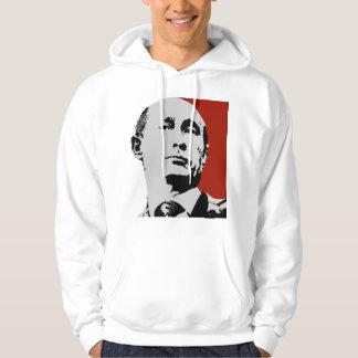 Vladimir Putin en rojo Suéter Con Capucha