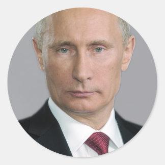 Vladimir Putin Gear Classic Round Sticker