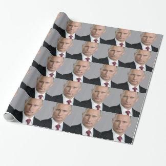Vladimir Putin Gear Wrapping Paper