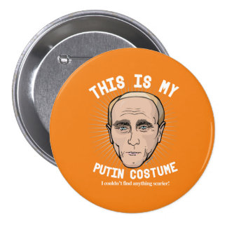 Vladimir Putin Halloween Costume - I couldn't find Button