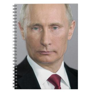 Vladimir Putin Libro De Apuntes Con Espiral