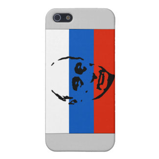 Vladimir Putin on Russian Flag Case For iPhone SE/5/5s