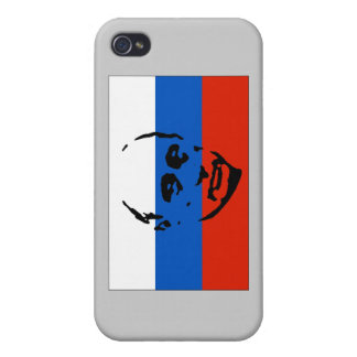 Vladimir Putin on Russian Flag Cover For iPhone 4