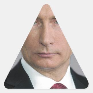 Vladimir Putin Calcomania De Triangulo Personalizadas
