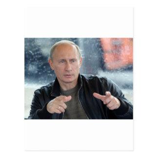 Vladimir Putin Post Card