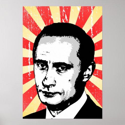 Vladimir Putin Póster