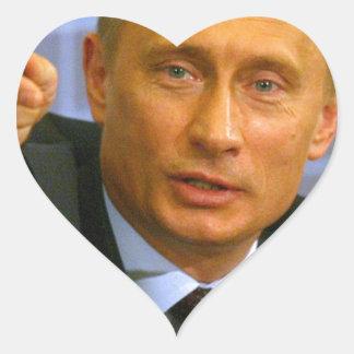 ¡Vladimir Putin quiere dar a ese hombre una Pegatina En Forma De Corazón