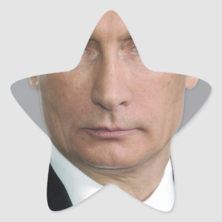 Vladimir Putin Star Sticker