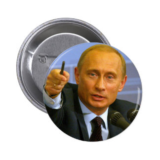 Vladimir Putin wants to give that man a cookie! 2 Inch Round Button