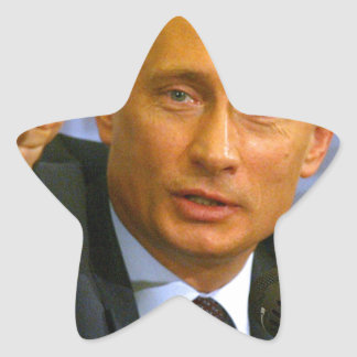 Vladimir Putin wants to give that man a cookie! Star Sticker