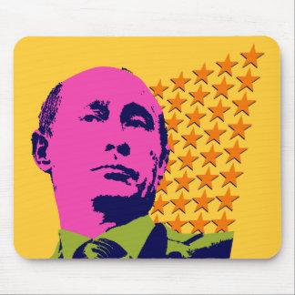 Vladimir Putin with Stars Mouse Pad