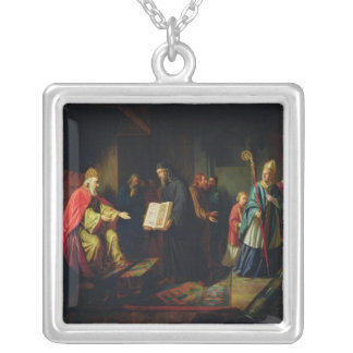 Vladimir Svyatoslavich the Great Silver Plated Necklace