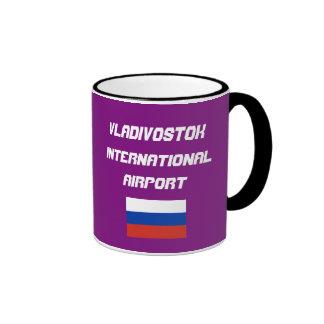 Vladivostok International Airport Call Letters Mug
