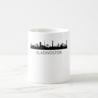 Vladivostok Russia Cityscape Magic Mug