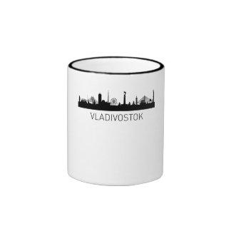 Vladivostok Russia Cityscape Ringer Mug