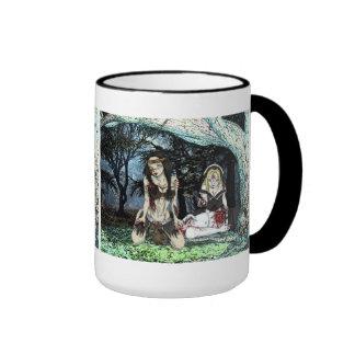 Vlad's Undead Angels Thanksgiving Zombie Girl Mug