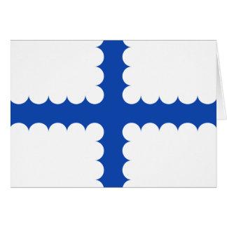 Vlag Beersel, Belgium Greeting Card