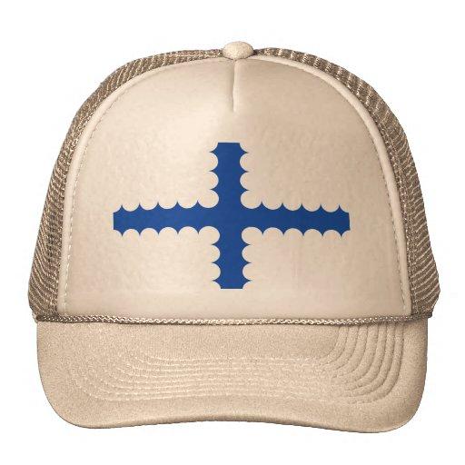 Vlag Beersel, Belgium Trucker Hats