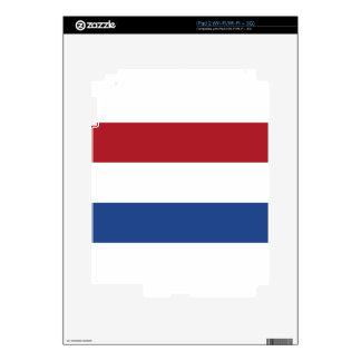 Vlag van Nederland - Flag of the Netherlands iPad 2 Decals