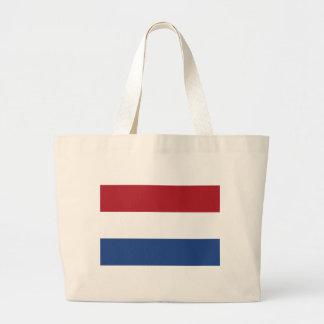 Vlag van Nederland - Flag of the Netherlands Large Tote Bag