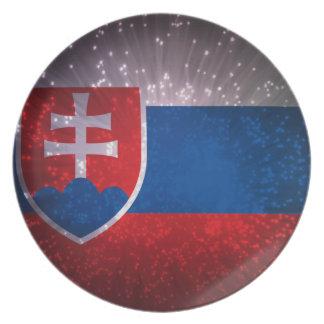 Vlajka de Slovensko Plato