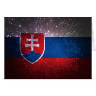 Vlajka de Slovensko Felicitaciones