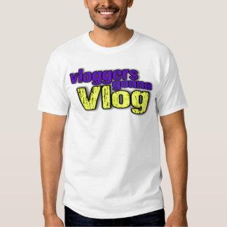 Vloggers Gonna Vlog T-Shirt
