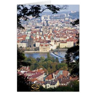 Vltava River Prague Card