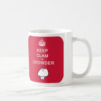 VM8613 vimrod keep clam in chowder Coffee Mug