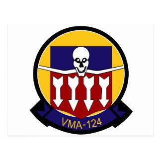 vma-124 tarjetas postales