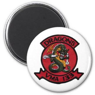 VMA 133 Dragons Magnet