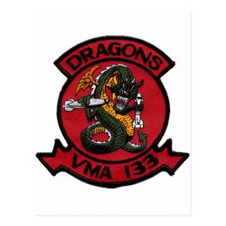 VMA 133 Dragons Postcard