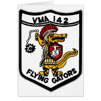 VMA 142 Gators Card