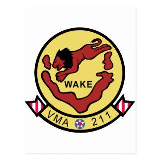 VMA-211 Wake Island Avengers Postcard