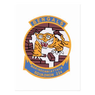 VMA-224 Fighting Bengals Postcard