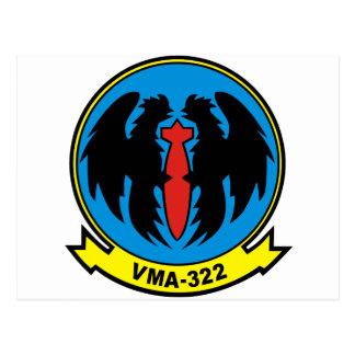 vma-322 postcard
