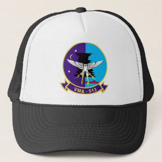 VMA-513 Flying Nightmares Trucker Hat