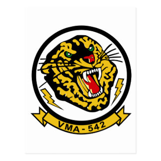 VMA-542 Tigers Postcard