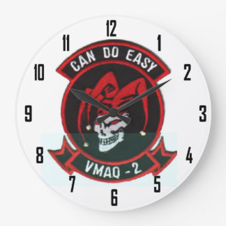 VMAQ-2      DEATH JESTERS LARGE CLOCK