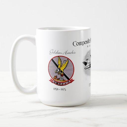 VMCJ-1 Golden Hawks Mug