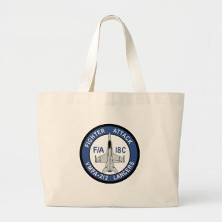 VMFA 212 Lancers Tote Bags
