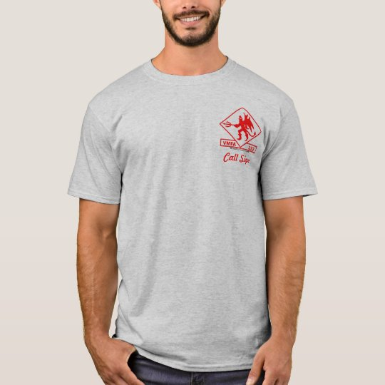 VMFA 232 w/Harrier - Light colored T-Shirt