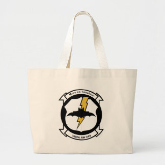 vmfa 242 Bats Large Tote Bag