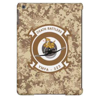 "VMFA-323 Death Rattlers ""Desert Camo"" iPad Air Cases"