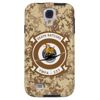 "VMFA-323 ""Death Rattlers"" Marine Camo Galaxy S4 Case"