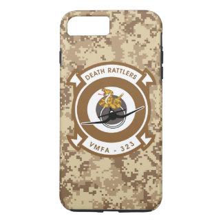 "VMFA-323 Death Rattlers ""Marine Camo"" iPhone 7 Plus Case"