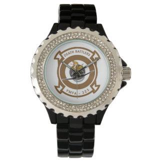 VMFA-323 muerte Rattlers Reloj De Mano