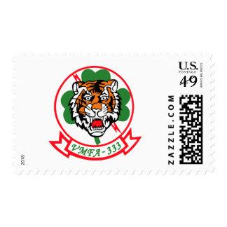 VMFA-333 Fighting Shamrocks Postage Stamps