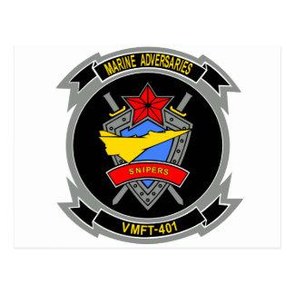 VMFA-401 Adversaries Snipers Postcards