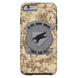 "VMFA (AW) - 533"" Hawks"" Camo marino Funda Resistente iPhone 6"